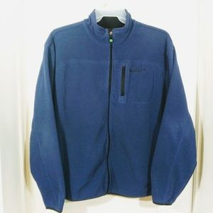 Timberland Full Zip Blue Fleece Jacket EUC